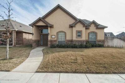 Amarillo Single Family Home For Sale: 6313 Glenwood Dr