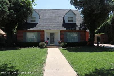 Amarillo Single Family Home For Sale: 2211 Hayden S St