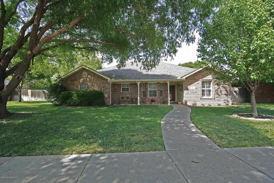 Amarillo Single Family Home For Sale: 3531 Timber Dr