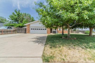 Amarillo Single Family Home For Sale: 4133 Tucson Dr