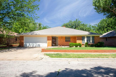 Amarillo Single Family Home For Sale: 7608 Canode Dr
