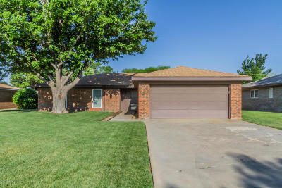 Amarillo Single Family Home For Sale: 4424 Clearwell St
