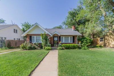 Amarillo Single Family Home For Sale: 3907 Fountain Ter