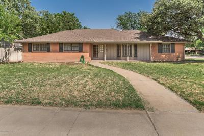 Amarillo Single Family Home For Sale: 3007 Harmony St