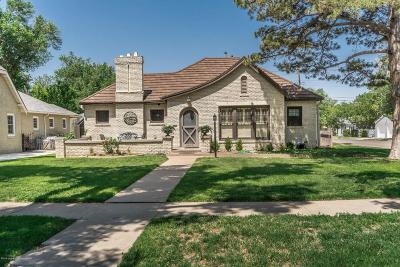 Amarillo Single Family Home For Sale: 2600 S.hayden St