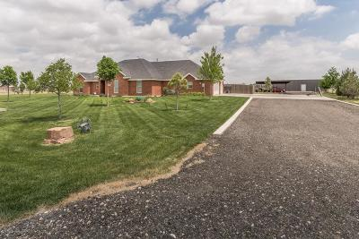 Amarillo Single Family Home For Sale: 1501 Rock Creek Rd