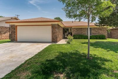 Amarillo Single Family Home For Sale: 5215 Milam St