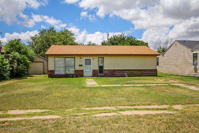 Amarillo Single Family Home For Sale: 4204 Hayden St