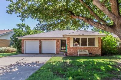 Amarillo Single Family Home For Sale: 3615 Nebraska St