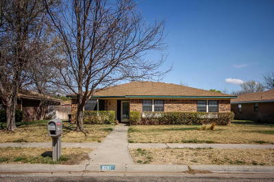 Amarillo Single Family Home For Sale: 6011 Harvard St