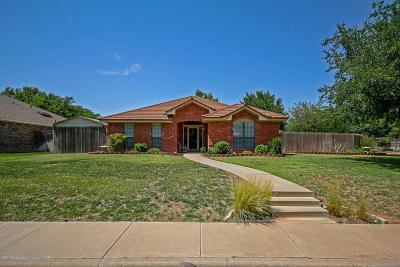 Amarillo Single Family Home For Sale: 7600 Tarrytown Ave
