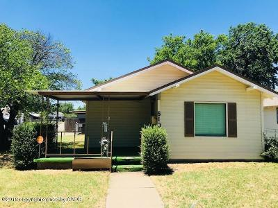 Amarillo Single Family Home For Sale: 610 Tennessee St