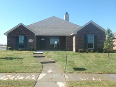 Amarillo Single Family Home For Sale: 2705 Nashville Ave