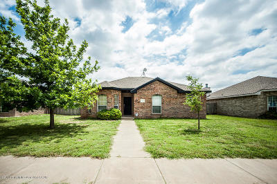 Amarillo Single Family Home For Sale: 3613 Pine St