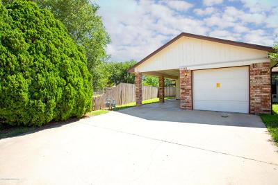 Amarillo Condo/Townhouse For Sale: 5301 Susan Dr