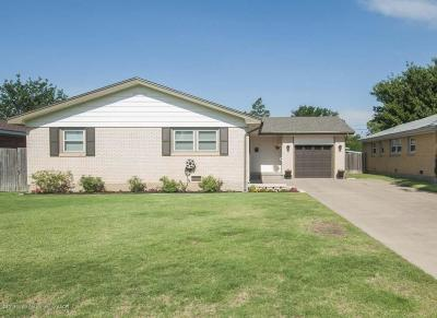 Amarillo Single Family Home For Sale: 1512 Smiley St