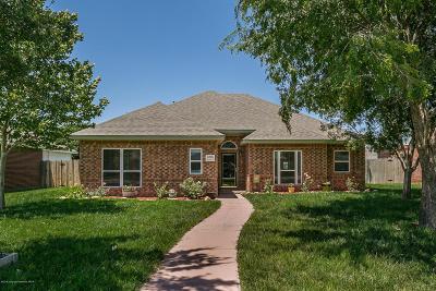 Amarillo Single Family Home For Sale: 6208 Crockett St