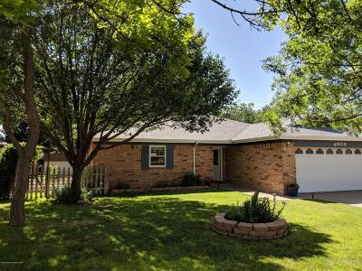 Amarillo Single Family Home For Sale: 4908 S Georgia St