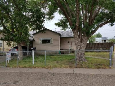 Borger Single Family Home For Sale: 408 Butadieno St