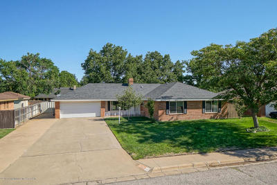 Potter County, Randall County Single Family Home For Sale: 6104 Elmhurst Rd