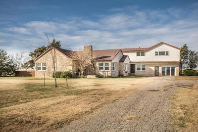 Carson County Single Family Home For Sale: 953 Co Rd J