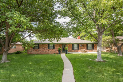 Potter County, Randall County Single Family Home For Sale: 6903 Dreyfuss Rd