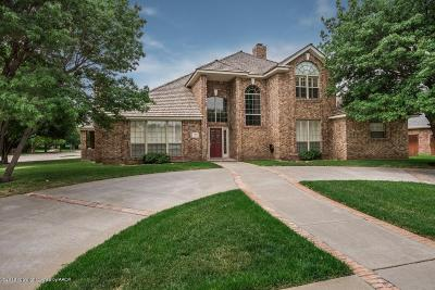 Randall County Single Family Home For Sale: 7805 Covington Pkwy