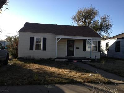 Amarillo Single Family Home For Sale: 3610 Taylor S St