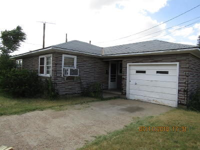 Borger Single Family Home For Sale: 1020 McGee South St.