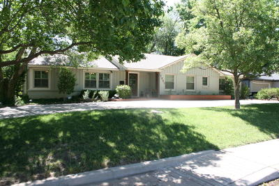 Potter County Single Family Home For Sale: 2801 Bowie S St