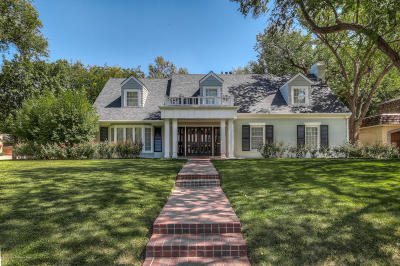 Amarillo Single Family Home For Sale: 3001 Lipscomb St