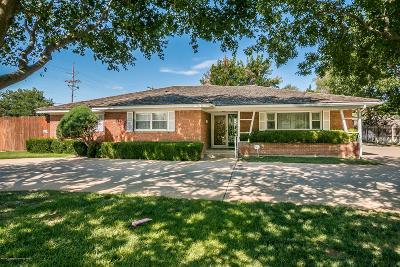 Amarillo Single Family Home For Sale: 3228 Travis St