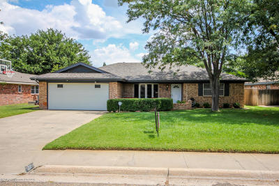Amarillo Single Family Home For Sale: 5503 Winslow St