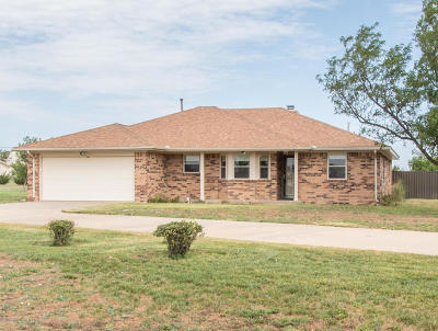 Amarillo Single Family Home For Sale: 12100 W Rockwell Rd