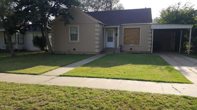 Potter County Single Family Home For Sale: 2804 Jackson S St