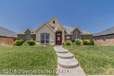 Amarillo Single Family Home For Sale: 7906 City View Dr
