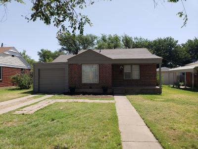 Amarillo Single Family Home For Sale: 3605 Lipscomb S St