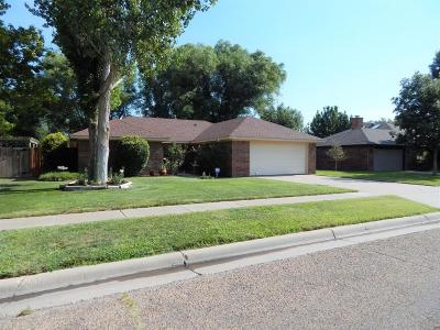 Amarillo Single Family Home For Sale: 7004 Bayswater Rd