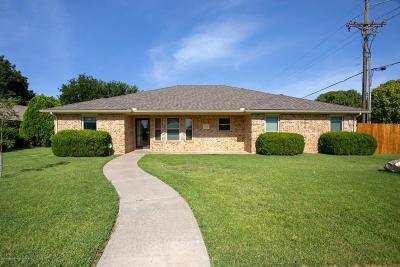 Amarillo Single Family Home For Sale: 6000 Devon Dr