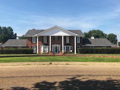 Borger Single Family Home For Sale: 305 Bois D Arc
