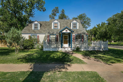 Randall Single Family Home For Sale: 2900 S Polk St