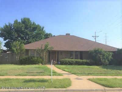 Potter County, Randall County Single Family Home For Sale: 8027 Simpson Dr
