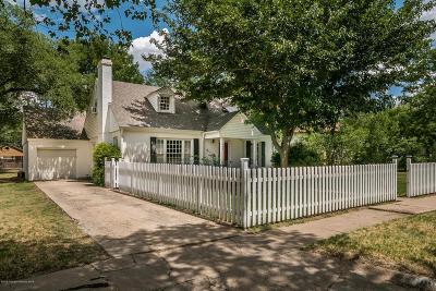 Potter County Single Family Home For Sale: 1005 Crockett St