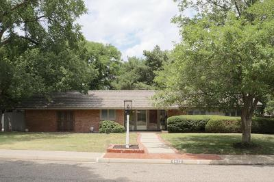Potter County, Randall County Single Family Home For Sale: 4412 Tawney Ave