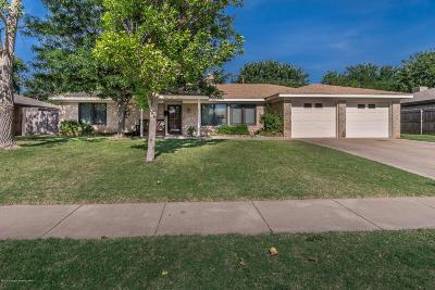 Amarillo Single Family Home For Sale: 3810 Kingston Rd