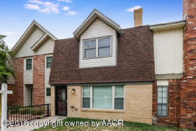 Amarillo Condo/Townhouse For Sale: 4331 Alicia Dr