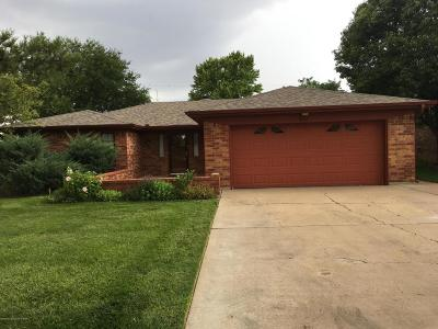 Potter County, Randall County Single Family Home For Sale: 8005 Hoving Pl