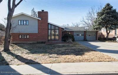 Potter County, Randall County Single Family Home For Sale: 4323 Charles St