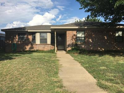 Amarillo TX Single Family Home For Sale: $112,900