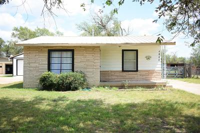 Single Family Home For Sale: 4846 Morning Dr